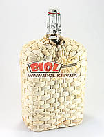 """Бутылка 1,75л стеклянная с бугельной крышкой """"Викинг"""" оплетенная кукурузой"""