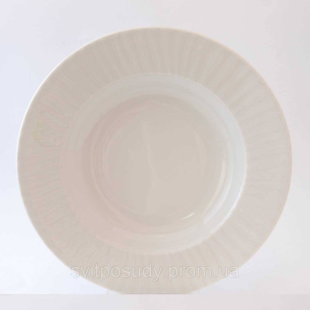 Тарелка глубокая 225 мм, Lubiana, фасон NESTOR