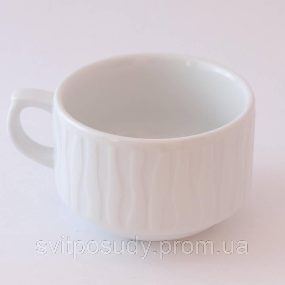 Чашка чайная 250 мл, Lubiana, фасон NESTOR