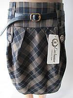 Клетчатые юбки для девочек., фото 1