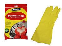 Перчатки хозяйственные резиновые Hozzi