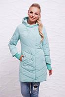 Молодёжная осенняя женская куртка 17-30 мята