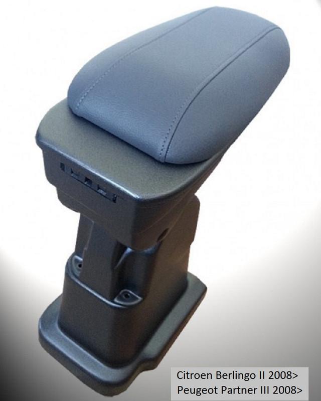 ARS1PECIK00911  Armcik S1 armrest Peugeot Partner III 2008>