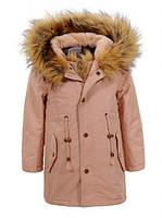Куртки на меху  для девочек оптом, Glo-Story, 92-98 рр., арт.GSX-5047
