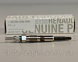 Свеча накала на Renault Trafic 2001-> 1.9dCi — Renault (Оригинал) - 8200490950