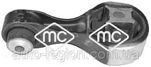 Подушка двигуна на Renault Trafic 2006-> 2.0 dCi (вгорі, перевернута вісімка) — Metalcaucho - MC05654