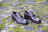 Итальянские мужские кожаные туфли оксфорды 42 размер , фото 2