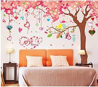 Интерьерная наклейка на стену  Дерево большое (XL9012)