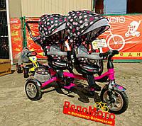 Двухместный трёхколёсный велосипедTurbo TrikeM 3116TW
