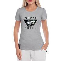 GlobusPioner Женская футболка Призрак в доспехах 61957