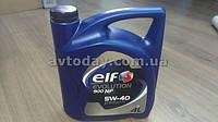 Моторное масло Renault Sandero Elf 5W40 Evolution 900 NF (4 л.) синтетика
