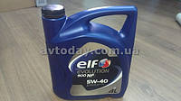 Моторное масло Renault Duster Elf 5W40 Evolution 900 NF (4 л.) синтетика