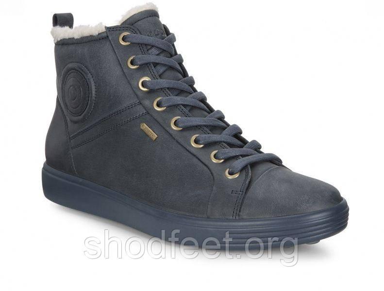 Утепленные женские ботинки Ecco Soft 7 Ladies Gore-Tex 430353-02038