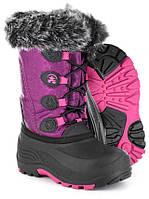 Зимние детские сапоги Kamik Snowgypsy Boot (Plum)