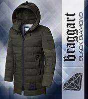 Мужская зимняя парка Braggart Black Diamond | 9017 хаки