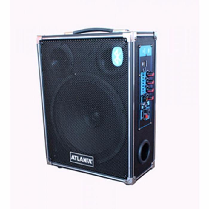 Напольная активная колонка в виде чемодана с Bluetooth Atlanfa AT-Q2