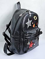 Модный стильный рюкзак черного цвета от украинского производителя