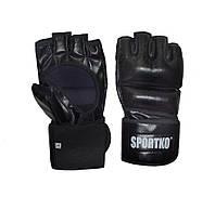Битки с открытыми пальцами Sportko арт. ПД-5