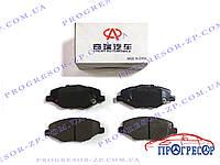 Колодки тормозные передние (оригинал) Chery Amulet / A11-6GN3501080