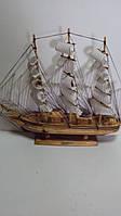 Сувенирная модель старинного корабля размер 45*49