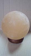 Соляной светильник круглый диаметр 17см