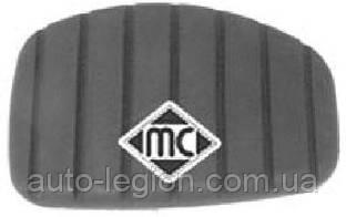 Накладка педали сцепления / педали тормоза (L=50 mm) на Renault Trafic 2001-> — Metalcaucho (Испания - MC04717