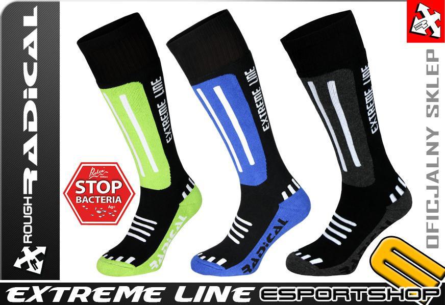Лыжные / повседневные термоноски Radical Extreme Line, разные цвета