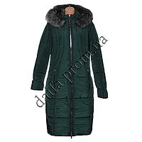 Женская зимняя куртка БАТАЛ (р-р 56-62) на синтепоне 7500-9 оптом в Одессе.