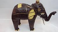 Статуэтка слон деревянная размер 38*30