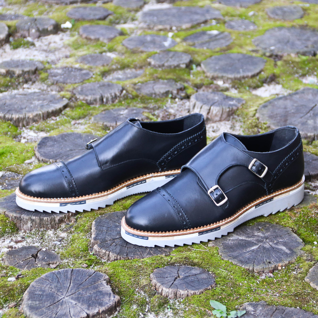 Итальянские мужские  туфли монки 42 размер