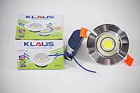 Потолочный LED светильник 5W Klaus, теплый свет