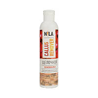 Щелочной пилинг для педикюра Callus Remover Nila земляника 250 ml