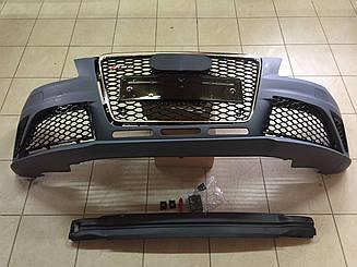 Передній бампер RS4 на Audi A4 2008-2012