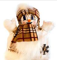 Снеговик-подушка 42х30 см GC-15
