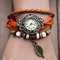 Модные женские наручные часы-браслет Owl