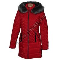 Молодежная зимняя куртка 7510-2 (р-р 44-50) на синтепоне оптом в Одессе.