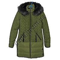 Молодежная зимняя куртка 7510-4 (р-р 44-50) на синтепоне оптом в Одессе.