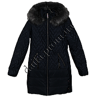 Молодежная зимняя куртка 7510-5 (р-р 44-50) на синтепоне оптом в Одессе.