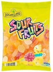 Жевательные конфеты Sugar Land Sour Fruits 200g