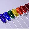 Витражный гель для дизайна ногтей, цвета в ассортименте 12 шт