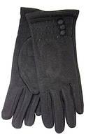 Зимние перчатки с декоративной строчкой