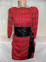 Женское платье с поясом оптом