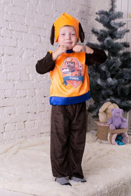 Детский карнавальный костюм для мальчика Зума