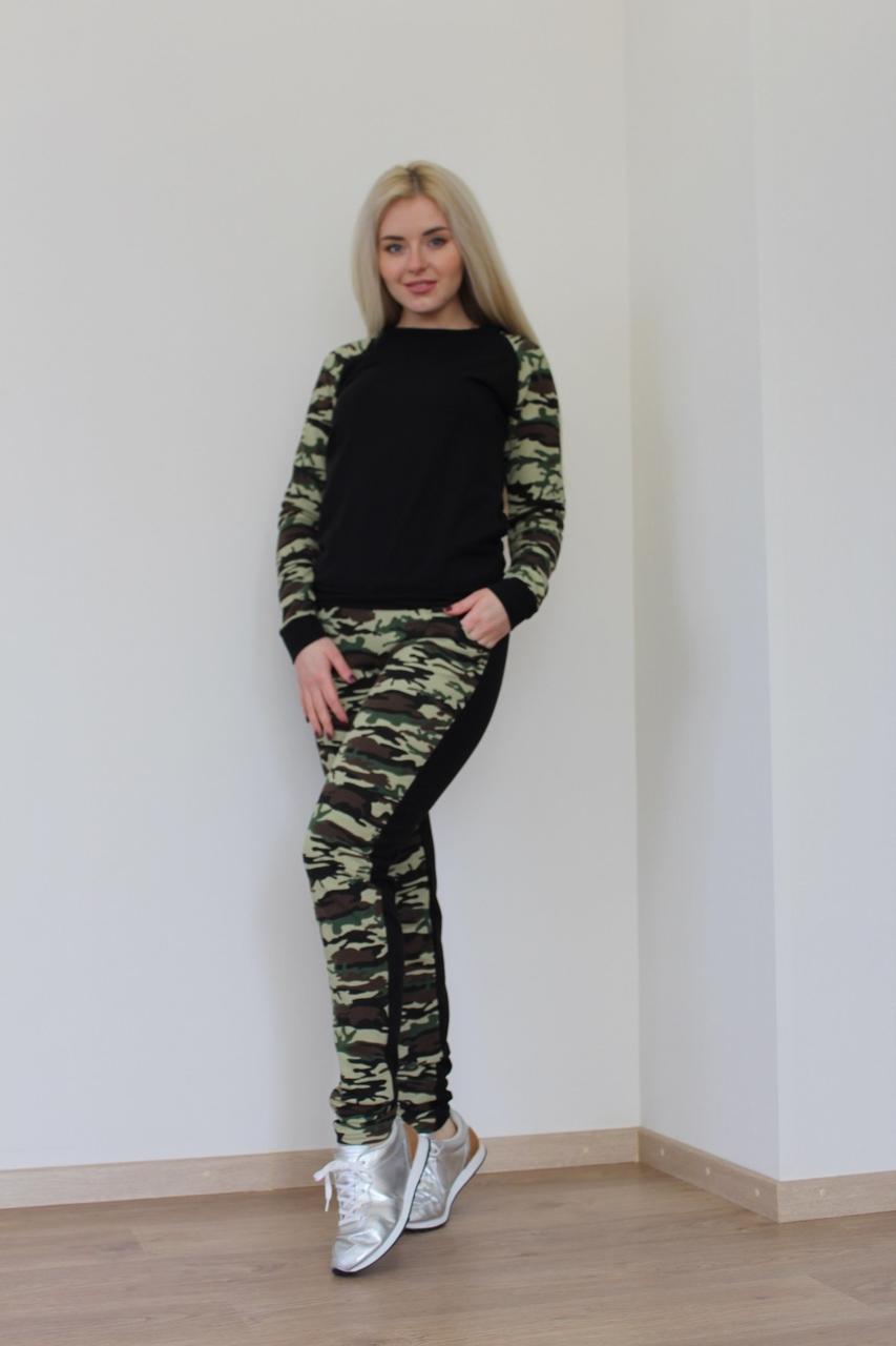 Костюм милитари женский
