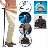 Трость телескопическая с подсветкой Magic Cane. Отличное качество. Трость для ходьбы. Купить. Код: КДН2297