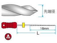 K-REAMERS, довжина 25 мм, різні розміри (MANI)