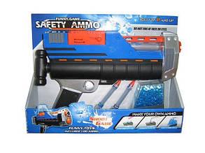 Пистолет с гидрогелевыми пулями