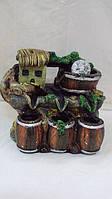 Фонтан настольный декоративный «Домик в лесу» размер 25*28*18