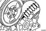 Снятие и установка распределительного вала двигателей Cummins B3.9, B4.5, B4.5 RGT и B5.9