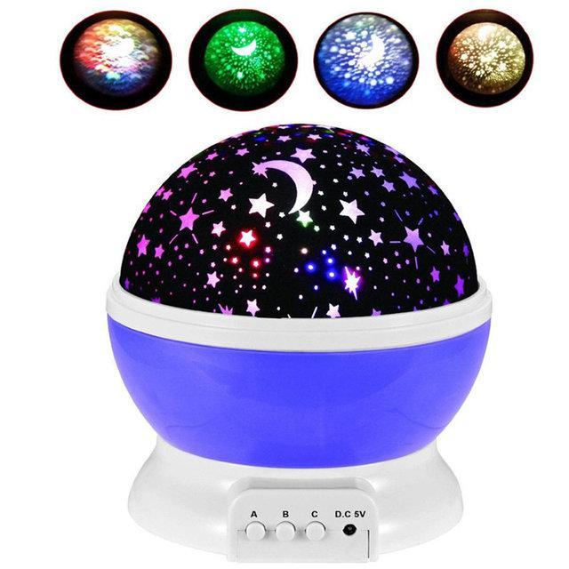 Ночник-проектор Star Master Dream Rotating с функцией вращения